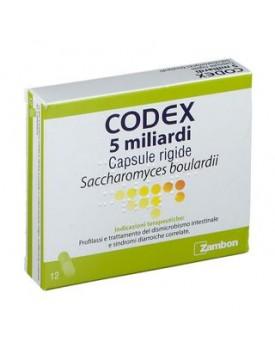 CODEX*12 cps 5 mld 250 mg