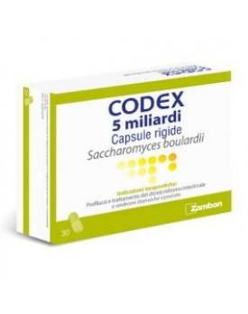 CODEX*30 cps 5 mld 250 mg