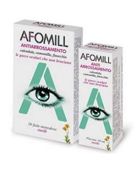 AFOMILL ANTIARROSSAMENTO GOCCE OCULARI 10 FIALE MONODOSE 0,5