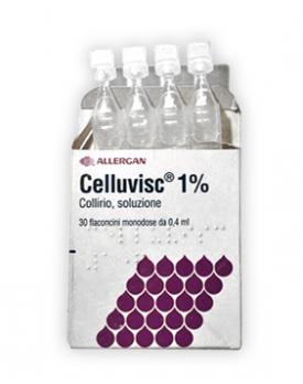 CELLUVISC*30 monod collirio 0,4 ml 10 mg/ml