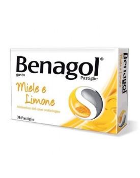 BENAGOL*36 pastiglie 0,6 mg + 1,2 mg miele limone