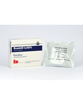BRUNISTILL*20 flaconcini collirio 0,5 ml 0,025%