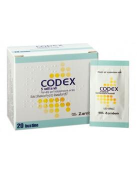 CODEX*20 bust polv orale 5 mld 250 mg