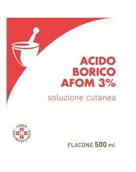 ACIDO BORICO AFOM*3% 500ML