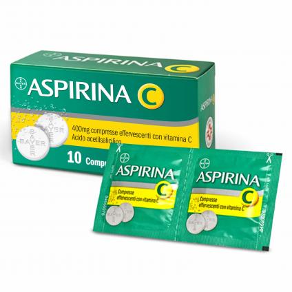 ASPIRINA C*10CPR EFF 400+240MG